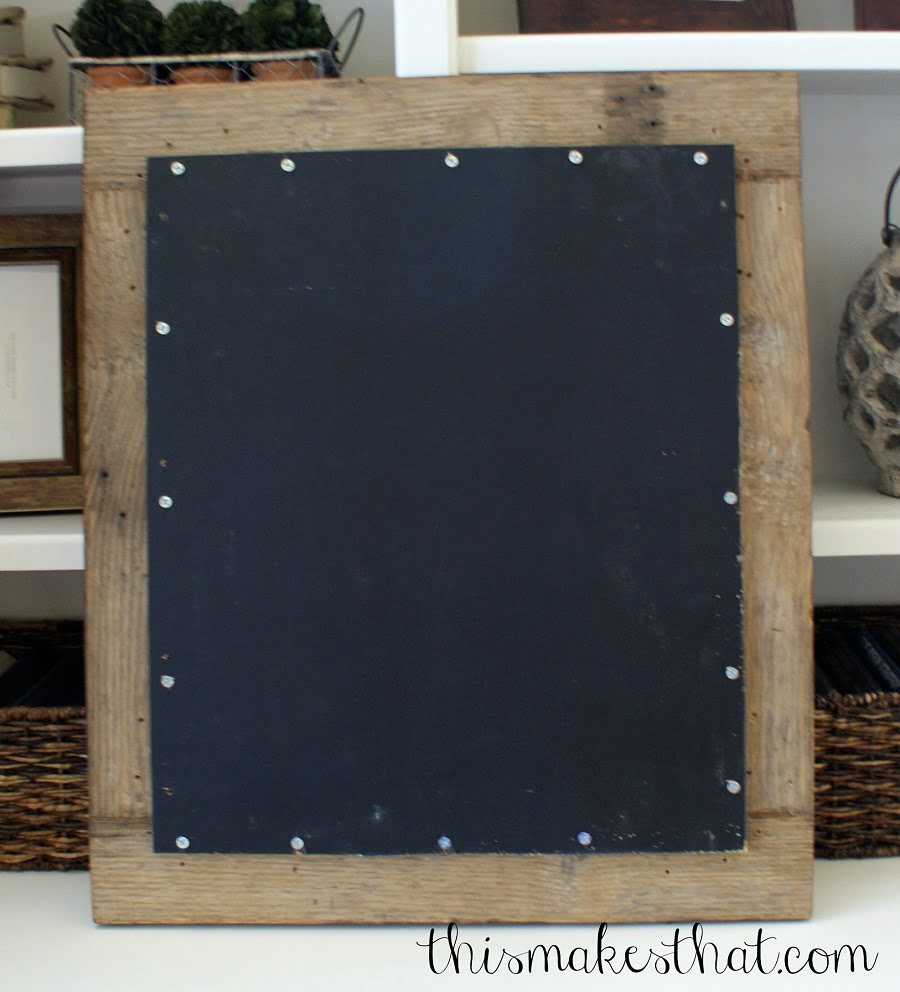 chalkboard painted
