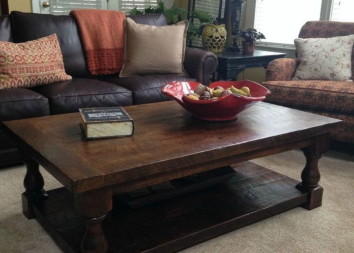 diy pottery barn inspired cortona coffee table