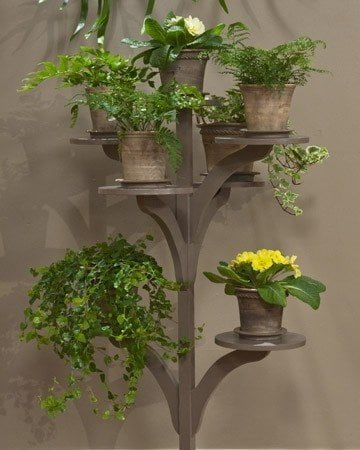 tree-shaped plant stand