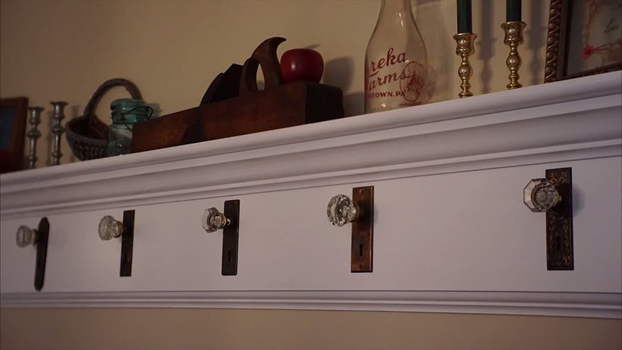 Door Knob Coat Rack