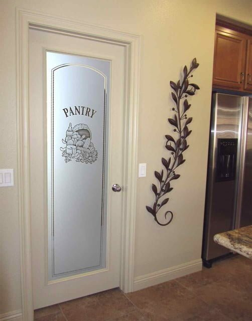Transparent Pantry Doors