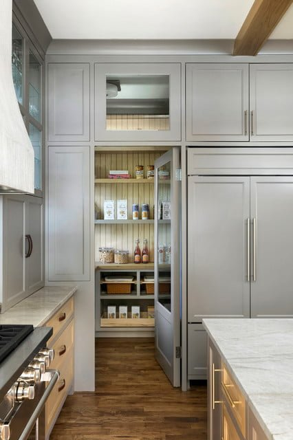 20 Attractive Pantry Door Ideas For The Humble Storage Room