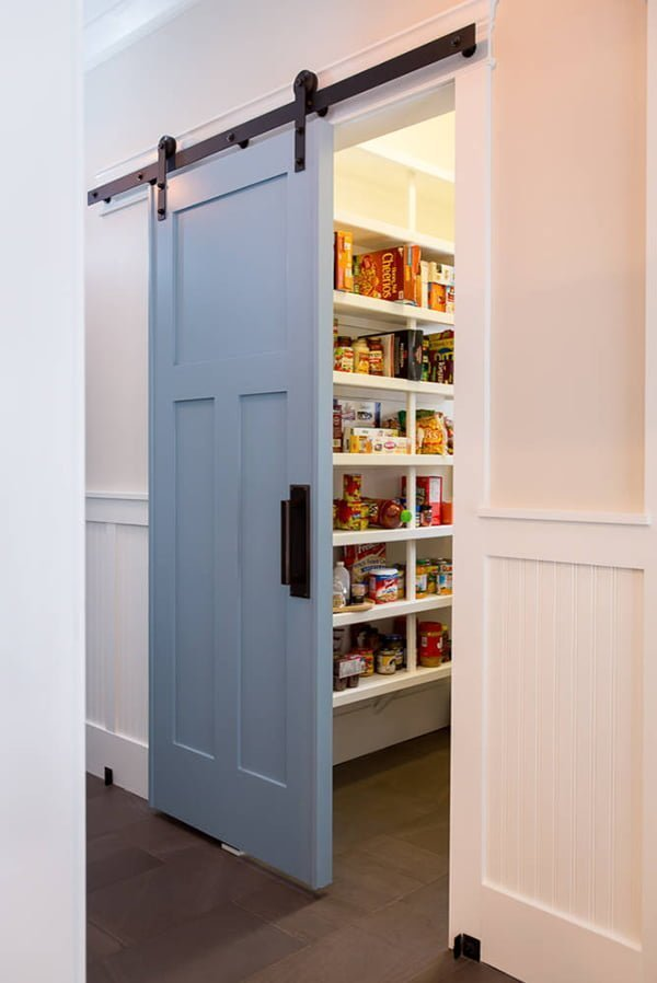 Sliding Barn Pantry Doors