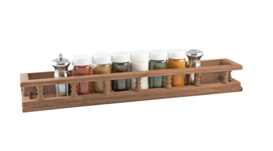 Rustic Modern Spice Rack