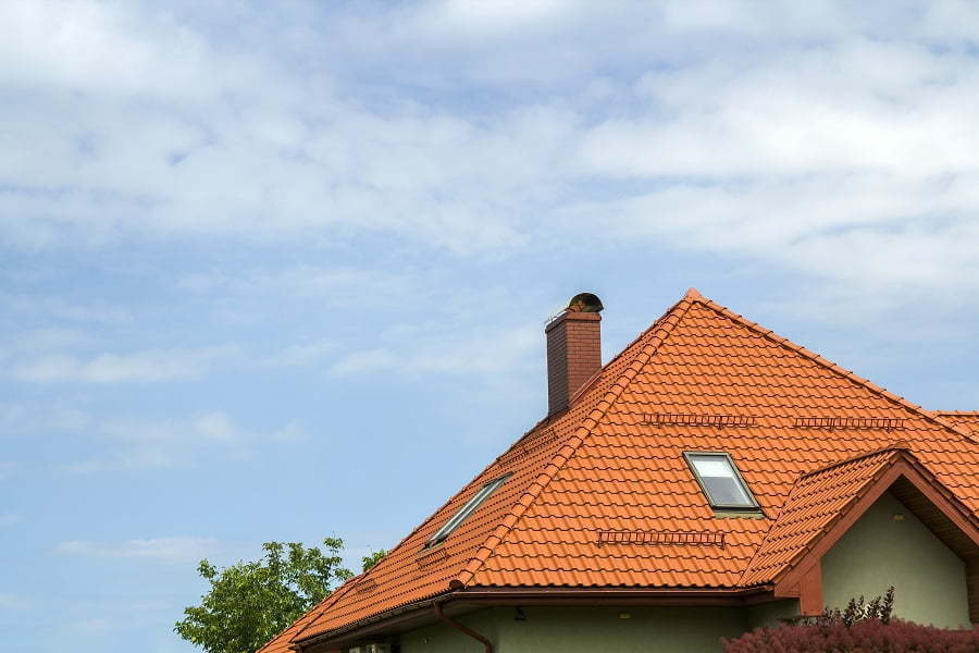 modern roof