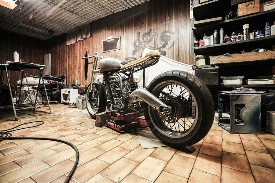 garage bike