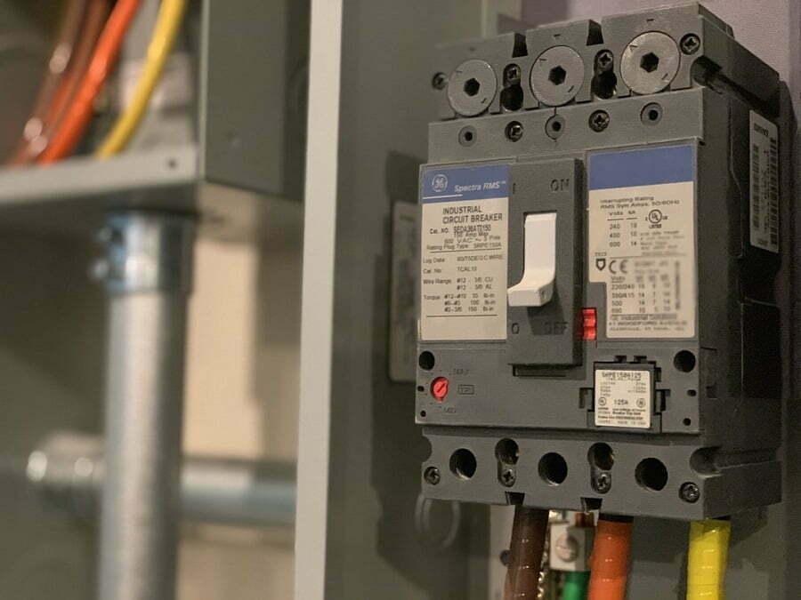 electric panel breaker